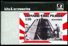 Hauler Models 1/35 JAPANESE WWII STEEL PILLBOX Resin Kit