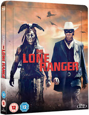 The Lone Ranger - Lenticular Edition Steelbook (Blu-ray) *BRAND NEW*