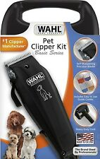 Wahl Pet Clippers Dog Grooming Kit Basic Fur Hair Cordless Trimmer 9160-210 NEW