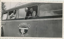 PHOTO ANCIENNE - VINTAGE SNAPSHOT - BUS AUTOBUS AUTOCAR CAR LAFOND CIE LYON 2