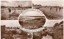 Carnoustie Multi View Golf unused RP old pc J B White Dundee