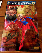 SUPERGIRL #1 NYCC COMIC CON 2016 Foil Exclusive Variant Rebirth DC Comics - NM