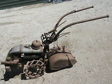 simar type 21C original rotary tiller antique rototiller made in switzerland old