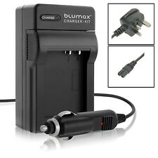 Mains & Car Charger for Panasonic CGR S006 S006E DMC FZ8 FZ7 FZ50 FZ38 Battery