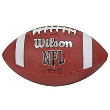 Wilson TDS NFL Official Size 9 Rubber Cover American Sports Football | WTF1