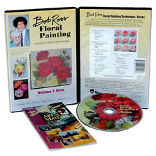 BOB ROSS - FLORAL PAINTING Workshop BLUMENMALEREI Rosen ROSES DVD Neu