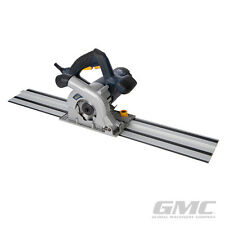 GMC 936962 1050W Compact Plunge Saw & Track Kit 110mm GTS1500