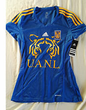 Team Tigres Official Soccer Jersey Adidas Size M Womens Blue  2013