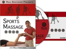 Sports Event & Medical Massage Video on DVD - 14 Page Booklet Included