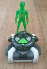 Ben 10 Figure Bundle Includes HOLO GREEN BEN TENNYSON & OMNITRIX ALIEN VIEWER