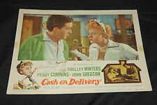 1955 Cash On Delivery Lobby Card 56/71 John Gregson Wilfred Hyde White (C-5)