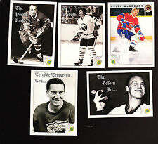 COMPLETE 100 CARD ORIGINAL SIX TRADING CARD HOCKEY SET BOBBY HULL ROCKET RICHARD