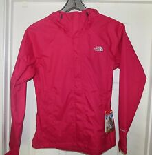 THE NORTH FACE WOMENS VENTURE RAIN JACKET- WATERPROOF -Cerise Pink MED NWT!