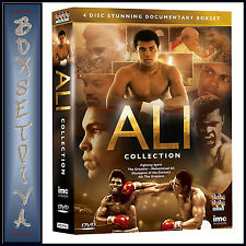MUHAMMAD ALI - ULTIMATE 4 DVD COLLECTION  *BRAND NEW*