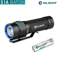 Olight S1A Baton Cree XM-L2 LED 600 Lumens Flashlight with AA Battery