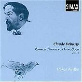 Hakon Austbo Claude Debussy: Complete Works for Piano CD