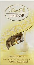 Lindt Lindor White Chocolate Truffles, 5.1 oz $7.99 FREE SHIPPING