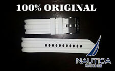 NAUTICA REPLACEMENT BAND 100% ORIGINAL WHITE 24mm N15567G N14608G A15578G