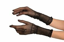 Small Hands Black Fishnet Butterfly Gloves (GL003169)