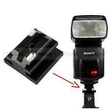 Metal Hot Shoe Mount Adapter for Minolta Sony AM Flash -No affect wireless state