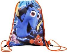 DISNEY FINDING NEMO DORY FISH SCHOOL LUNCH SPORTS DRAWSTRING SWIM GYM PE BOOT