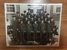 Original WWII US Army Air Force Officers Group 8x10 Photograph - All Identified