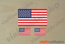PEGATINA STICKER VINILO Bandera Estados Unidos USA autocollant aufkleber adesivi