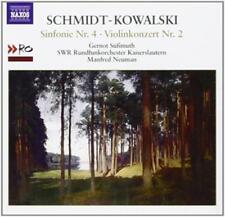 Sinfonie 4/Violinkonzert 2 - Süssmuth/Neuman/SWR Rundfunko - Schmidt-Kowalski,Th