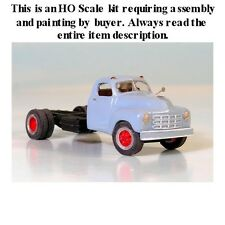 """HO SCALE: """"1949-53 STUDEBAKER CAB & CHASSIS"""" by Sylvan-Kit #V-130"""