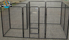 Extra Large 10 Panel 1200 high Dog Run, Pet Enclosure, Exercise Play Pen, Cage