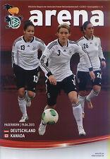 Frauen-Länderspiel 19.06.2013 Deutschland - Kanada, DFB-Arena 3/2013