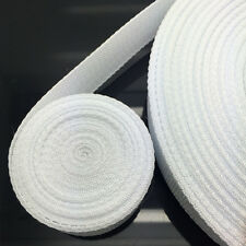 New Hot 10 Yards Length 38mm Wide White Strap Nylon Webbing Strapping #NS35