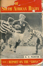 """GIANTS OF SOUTH AFRICAN RUGBY"" WITH A REPORT ON THE LIONS"" TOUR 1955 PARKER"