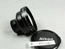 NIKON TELE CONVERTER TC-E2 2X JAPAN FOR COOLPIX MINT W/CAPS