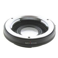 Minolta MD mit Glas Objektiv Adapter lens Glass Linse Canon Eos EF 600D 450D 5D
