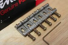 FENDER RELIC AGED VINTAGE STEEL STRAT STRATOCASTER BRIDGE SADDLES SET 0992051000