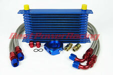 13 ROW AN-10AN UNIVERSAL ENGINE TRANSMISSION OIL COOLER +FILTER RELOCATION KIT