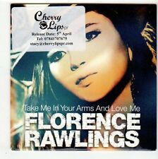 (FC493) Florence Rawlings, Take Me In Your Arms And Love Me - 2010 DJ CD