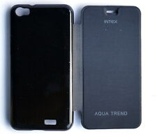 New diary flip flap case cover pouch FOR INTEX AQUA TREND