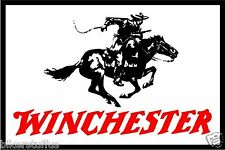 WINCHESTER HELMET STICKER HARD HAT STICKER BUMPER STICKER TOOLBOX STICKER