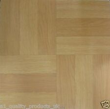 30 x Vinyl Floor Tiles - Self Adhesive - Bathroom Kitchen BNIB Wood Panel 314590