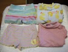Lot of 4 Baby Girl Clothes - Various Types SZ 9 Months