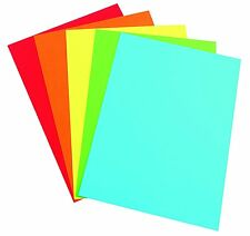 A4 Bright Colour Assorted Coloured Paper (100 Sheets) Art and Crafts Top Choice