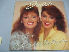 THE JUDDS ROCKIN' WITH THE RYTHM LP RECORD ALBUM