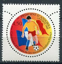 TIMBRE ANDORRE FRANCE NEUF N° 517  **  FOOTBALL JOUEUR