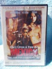 ONCE UPON A TIME IN MEXICO(COLLECTORS EDITION)JOHNNY DEPP MA R4 DVD SEALED