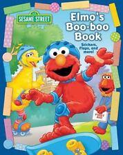 Sesame Street Elmo's Boo Boo Book (Flap Sticker Book) by Matt Mitter