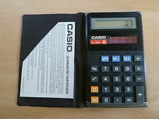 VINTAGE CASIO SL-300H SOLAR POWER SUPER CALCULATOR NEW 1970S-1980S