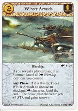 3 x Winter Armada AGoT LCG 1.0 Game of Thrones The Winds of Winter 39
