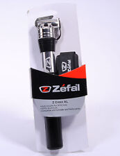 Zefal Bicycle Pump Mini Z Cross AL, Presta/Schrader